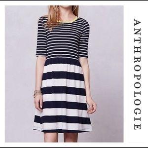 Anthro Saturday Sunday Harper Striped Bay Dress